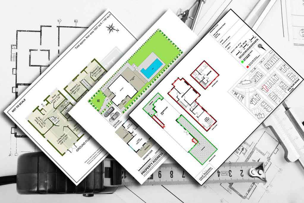 Estate agent floor plans for Floor plans for real estate marketing